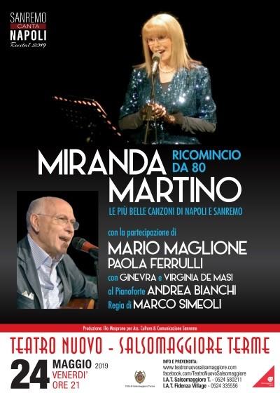 """Miranda Martino in """"Sanremo canta Napoli"""""""