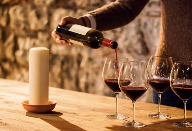 Degustazione Vini Friuli Venezia Giulia al ristorante enoteca OMBRE ROSSE