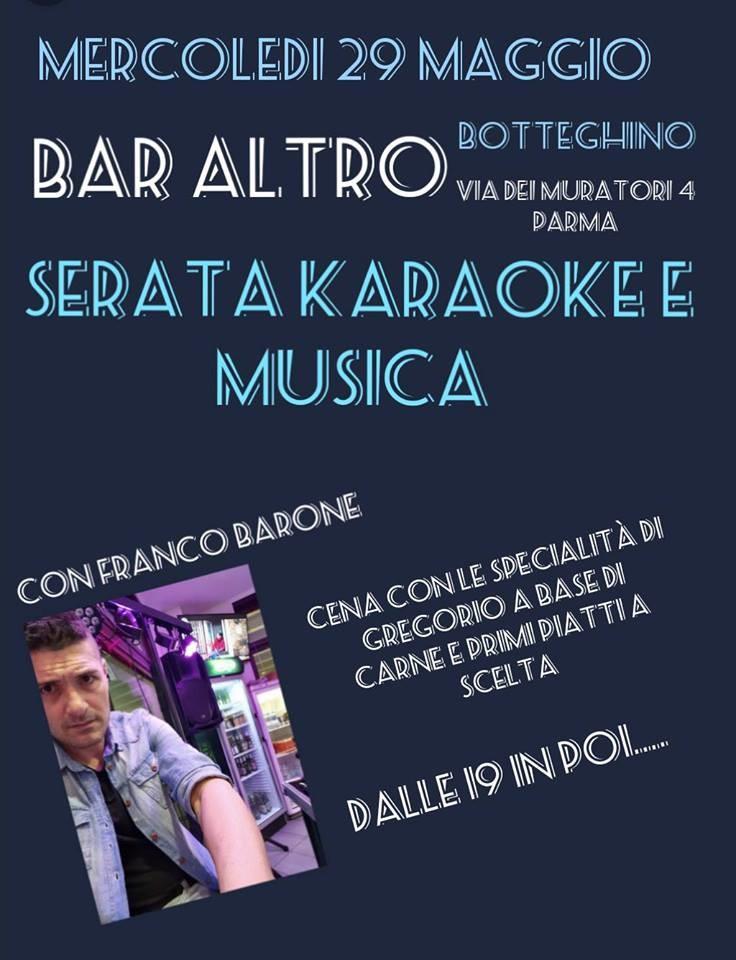 Karaoke Night @Altro ristobar