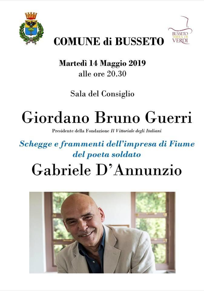 Giordano Bruno Guerri  racconta D'annunzio e l'impresa di Fiume