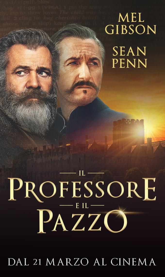 IL PROFESSORE E IL PAZZO al cinema Cristallo di Borgotaro