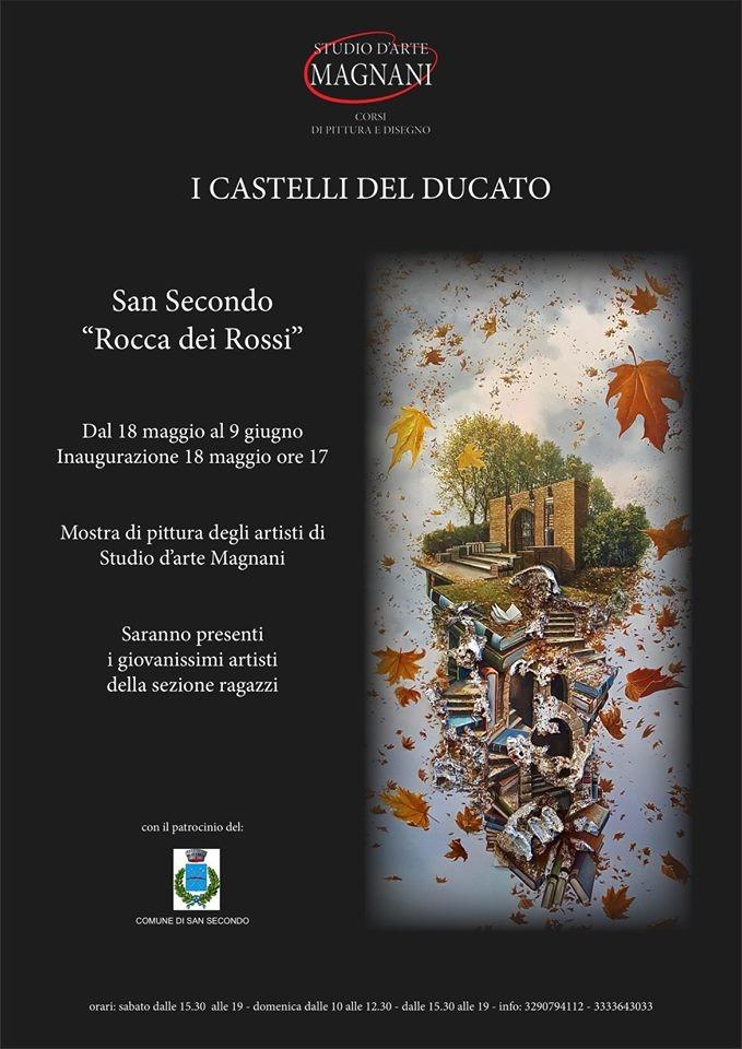 Mostra di pittura I CASTELLI DEL DUCATO alla Rocca di San Secondo