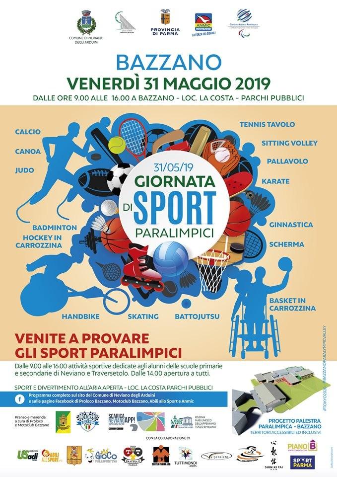 A Bazzano grande giornata di sport paralimpici!