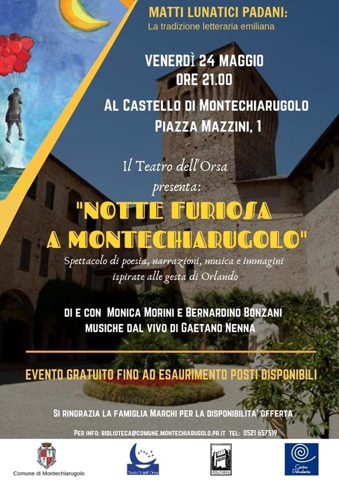Notte furiosa al castello di Montechiarugolo