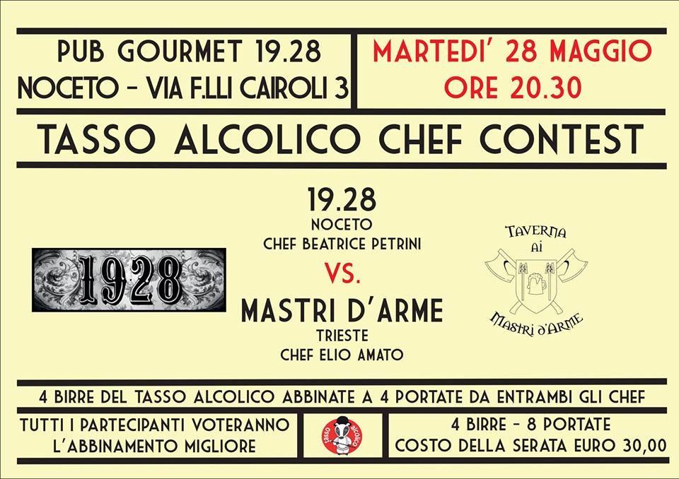Chef Contest la sfida continua al pub gourmet 19.28