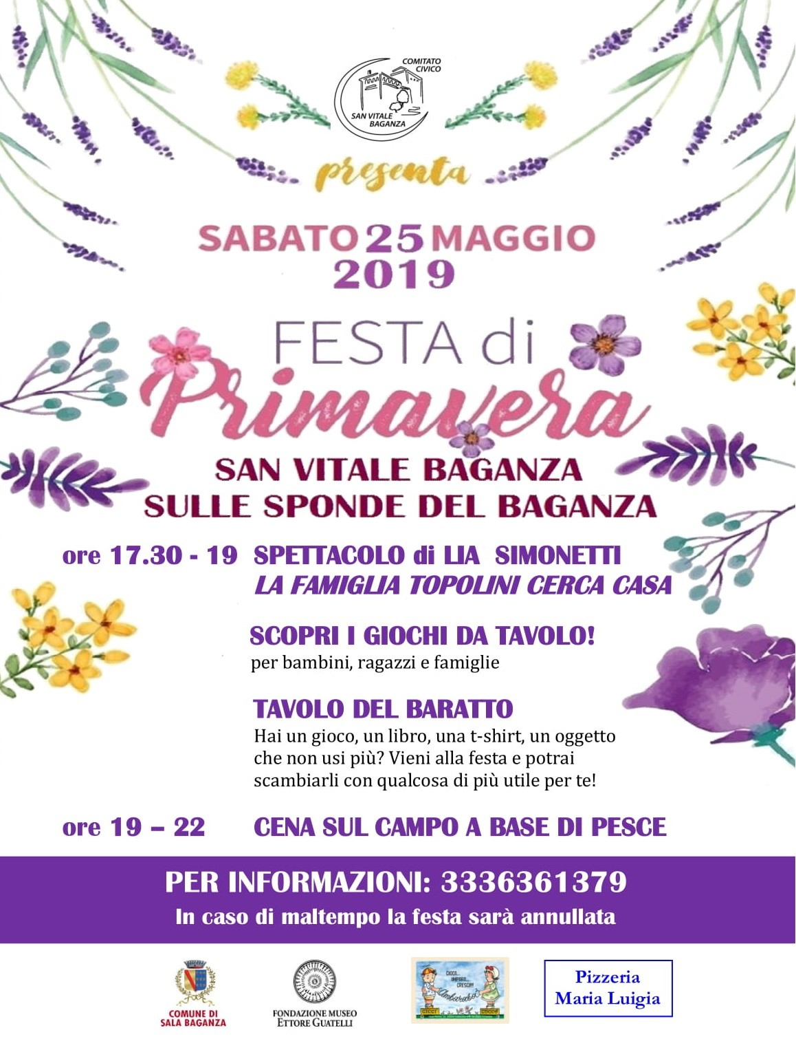 Festa di Primavera a San Vitale Baganza