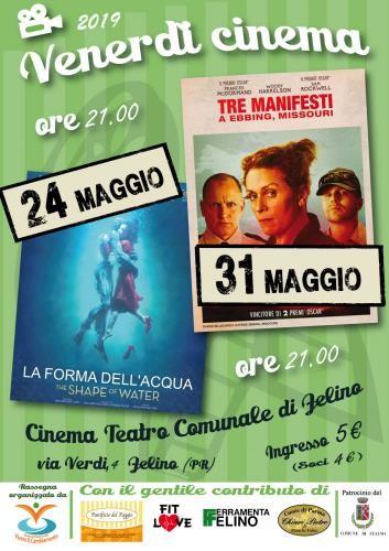 """Venerdì Cinema: 24 maggio """"La forma dell'acqua"""""""