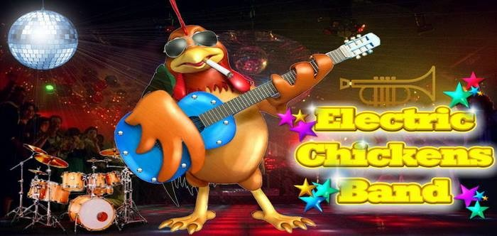 Electric Chickens band in concerto all'ALTRO risto bar