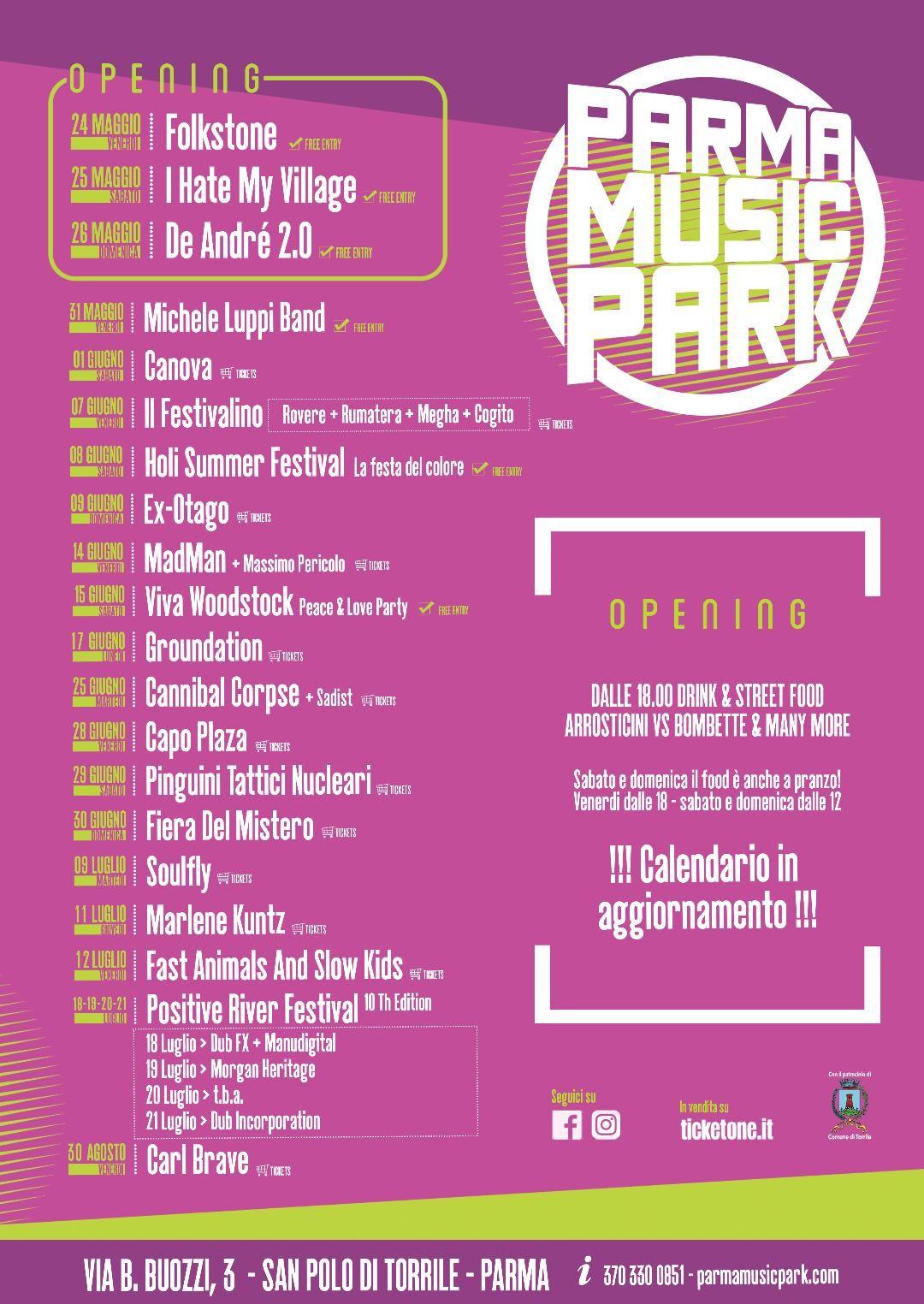 Parma music park