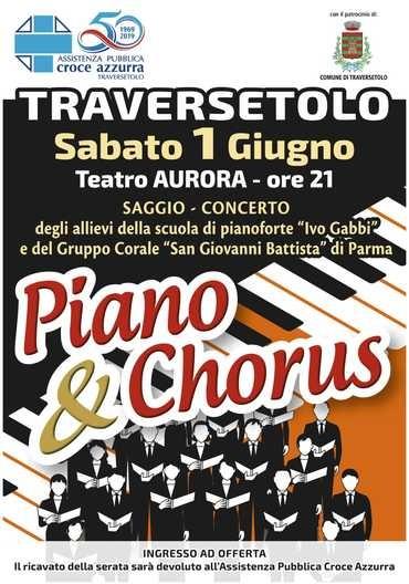 Piano & Chorus al Teatro Aurora