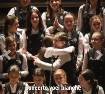 Concerto del Coro di Voci Bianche  del Conservatorio A. Scarlatti di Palermo