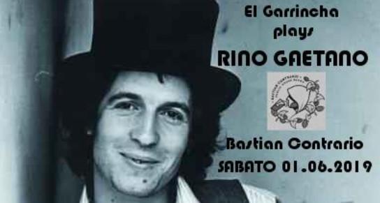 Tributo a Rino Gaetano - El Garrincha Live al Bastian Contrario