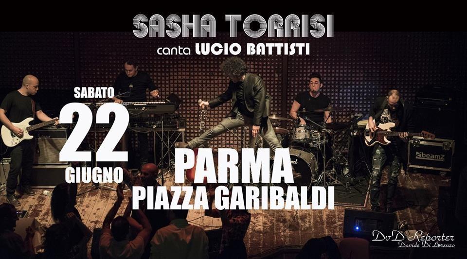 Sasha Torrisi canta Lucio Battisti in piazza Garibaldi