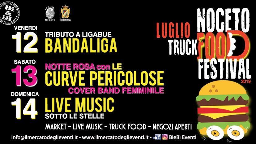 Noceto Food Festival, concerti