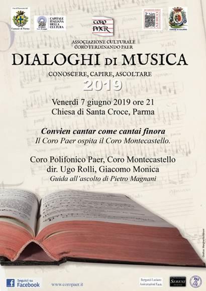 Dialoghi di musica col Coro Paer