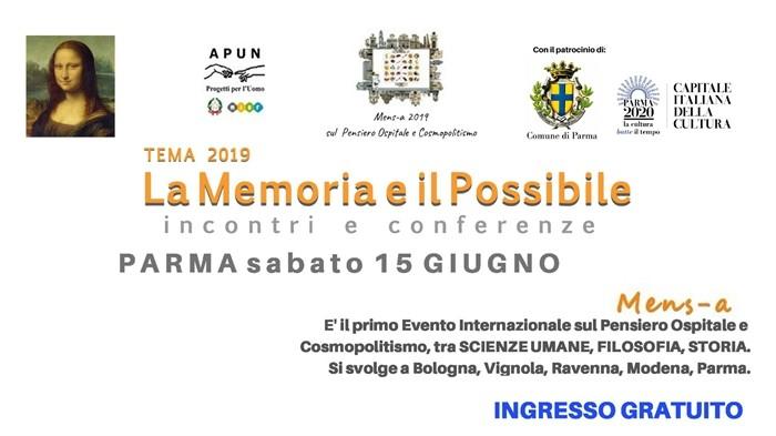 Mens-a, il festival internazionale di cultura diffusa a Parma il 15 giugno