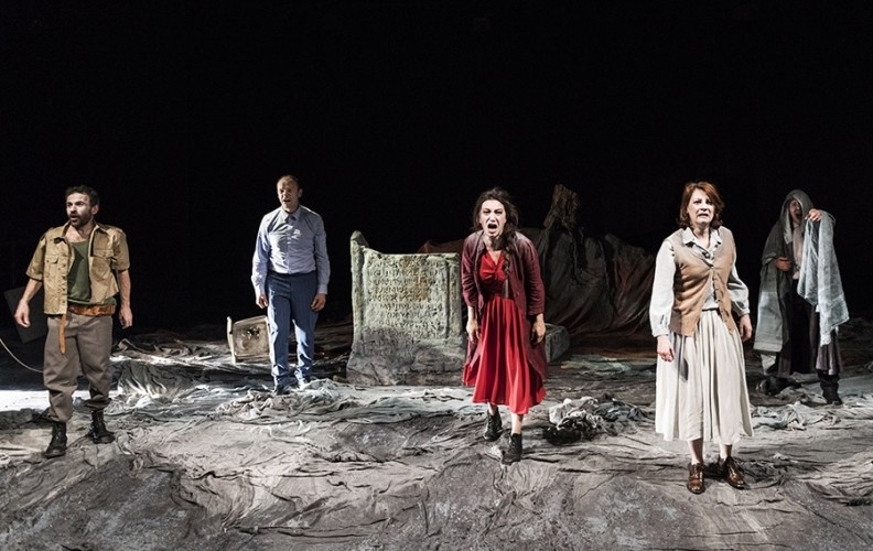ANTIGONE  di Sofocle all'Arena Shakespeare
