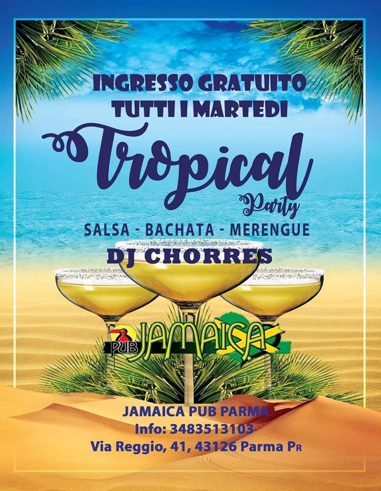 Tropical party al Jamaica pub
