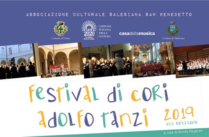 FESTIVAL INTERNAZIONALE DI CORI 'ADOLFO TANZI'  XII EDIZIONE
