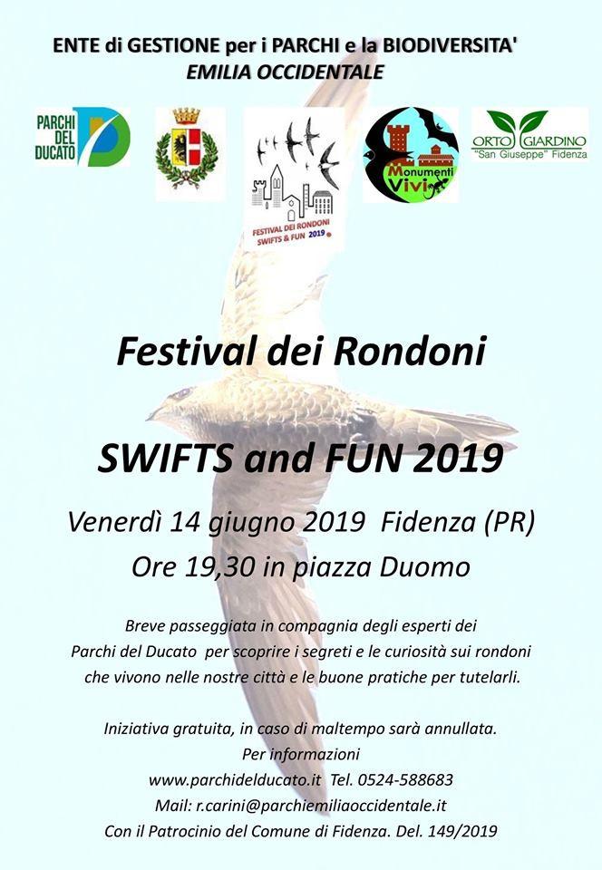 Festival dei rondoni a Fidenza