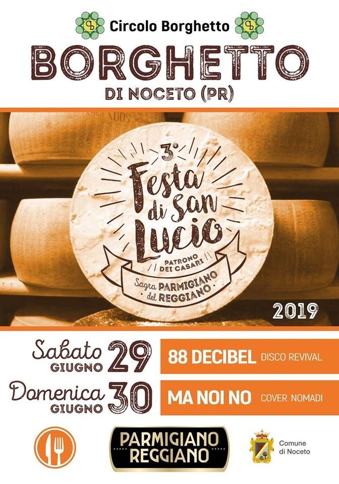 """A Borghetto """"Festa di SAN LUCIO"""" il Patrono dei Casari"""