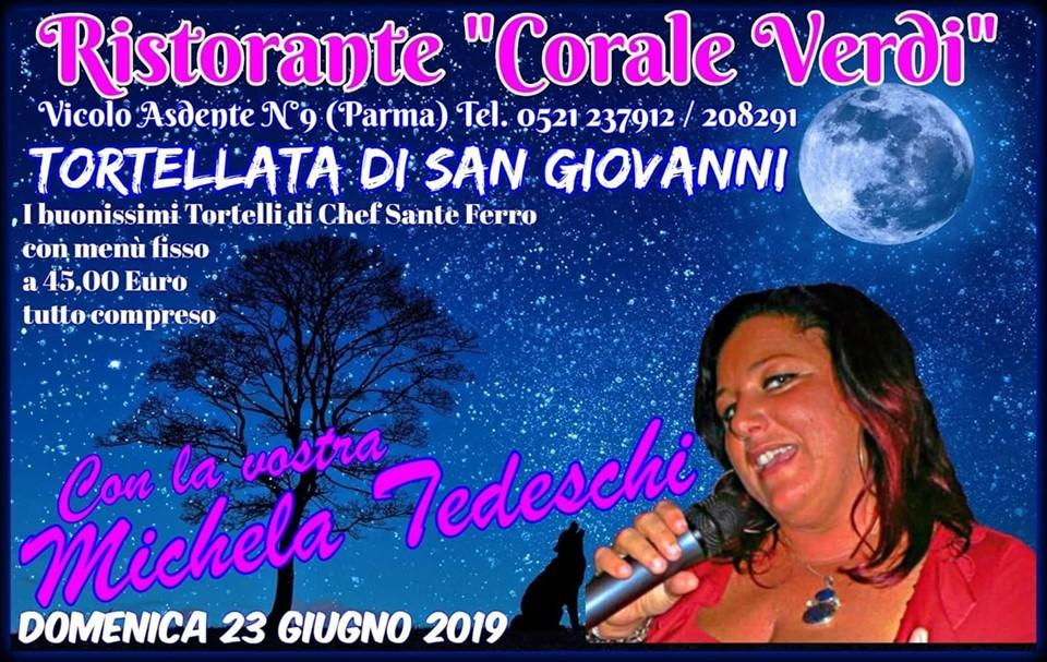 San Giovanni alla Corale Verdi con la musica di Michela Tedeschi