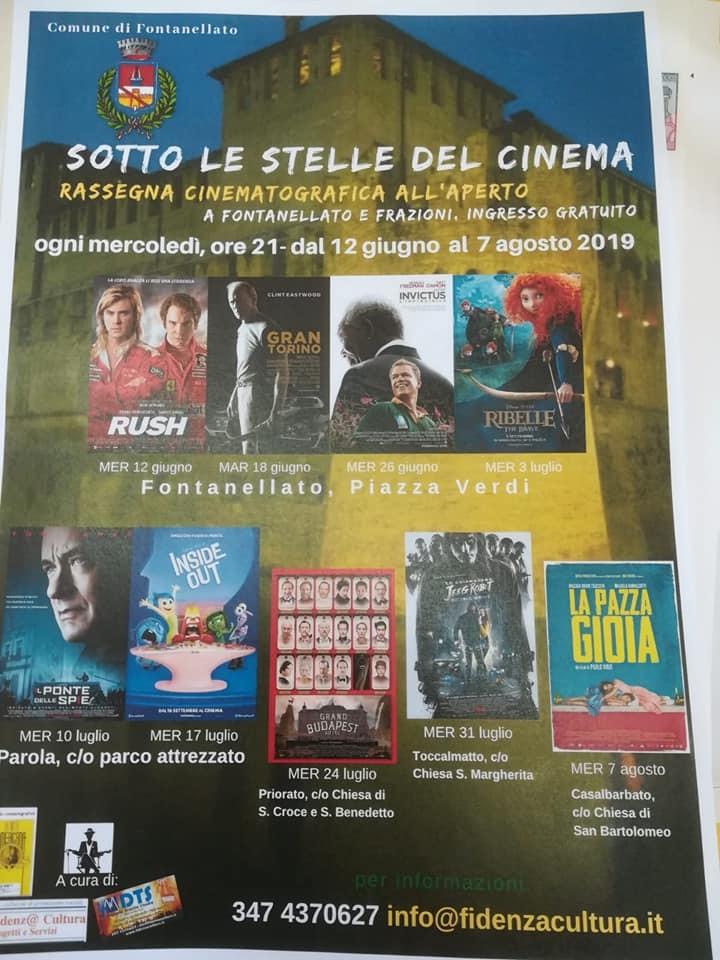 """A Fontanellato """"Sotto le stelle del cinema"""""""