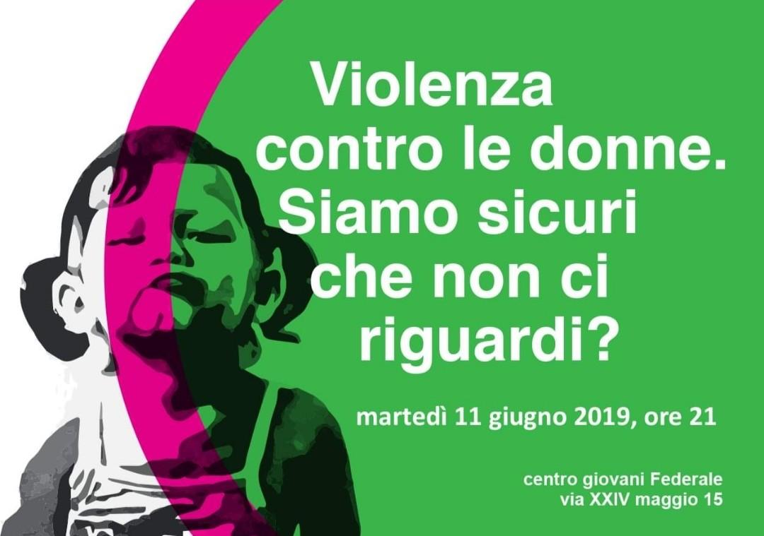 Proiezioni contro la violenza sulle donne al Centro giovani Federale