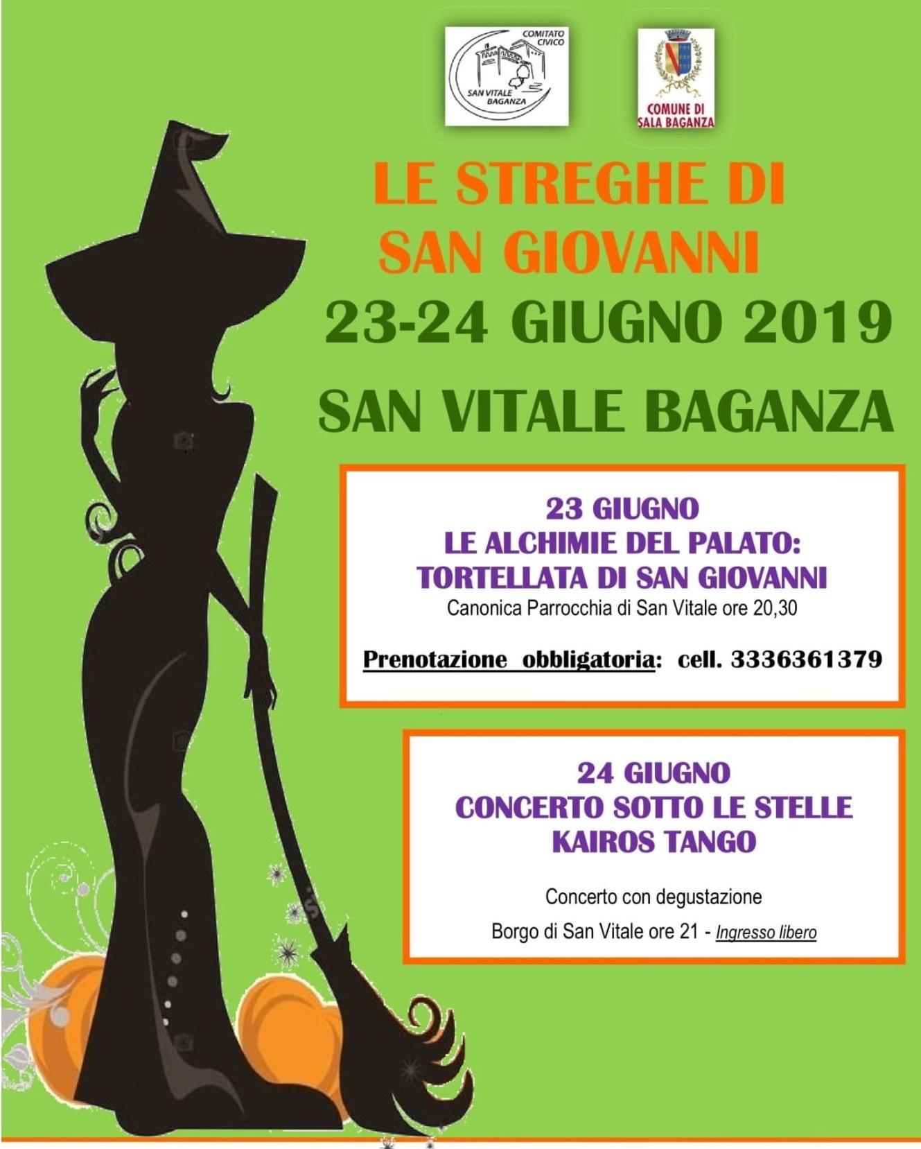 """""""Le streghe di San Giovanni"""" a San Vitale Baganza"""