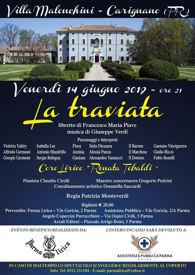 La Traviata a Villa Malenchini