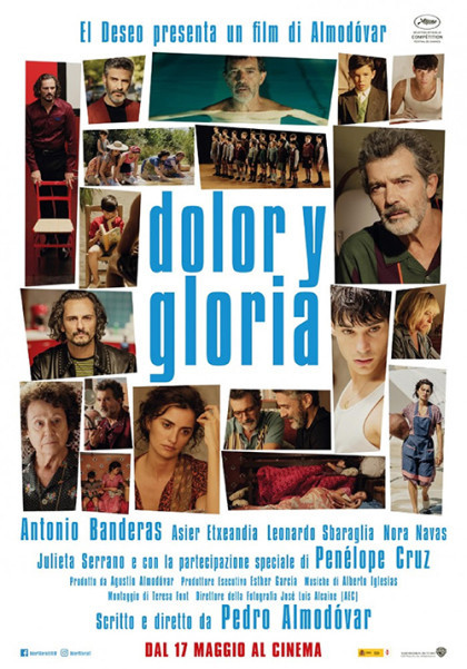 "Al CINEMA GRAND'ITALIA ""DOLOR Y GLORIA"""