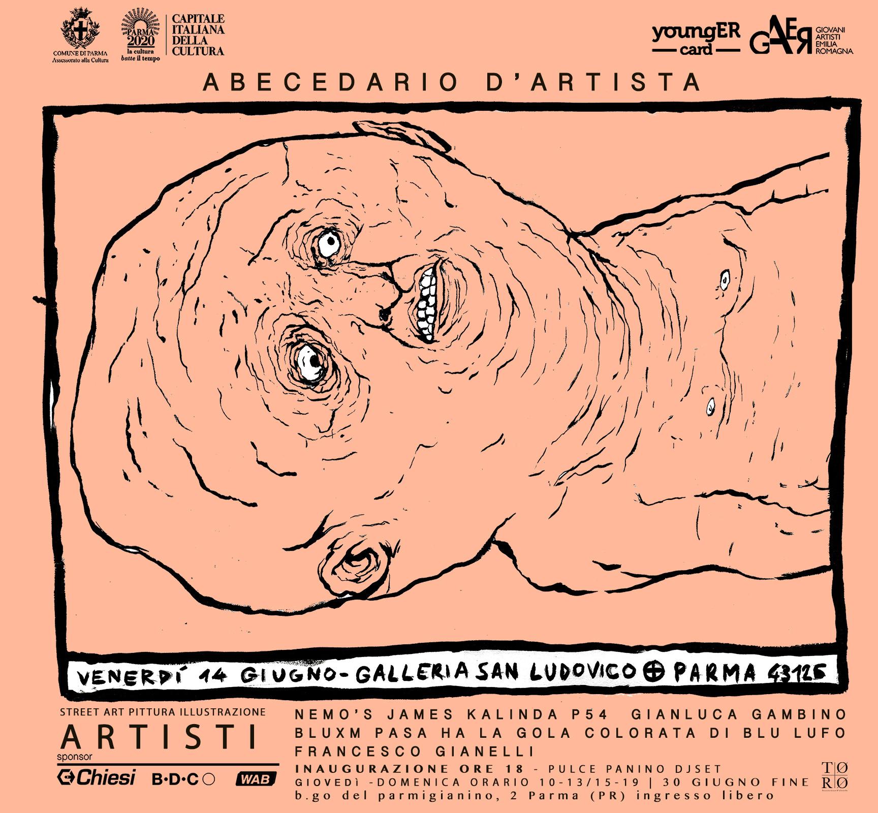 """""""Abecedario D'Artista 3/3 _ Finale_"""" esposizione collettiva di artisti"""