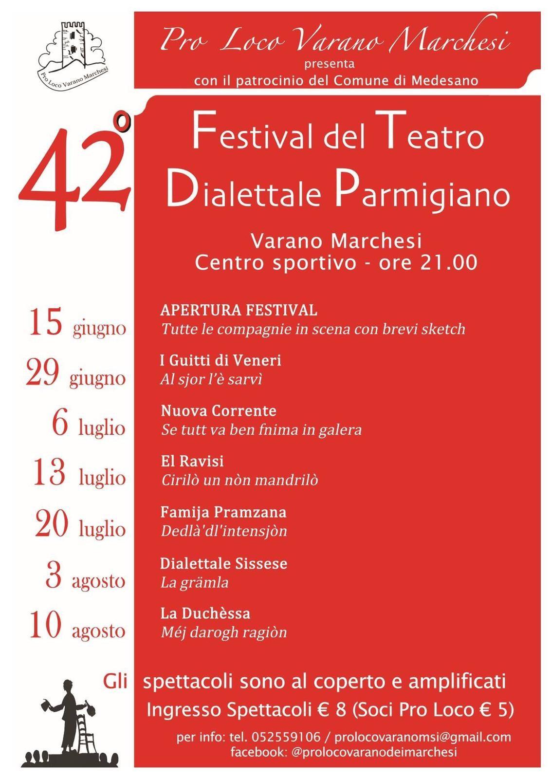 Festival del teatro dialettale a Varano Marchesi