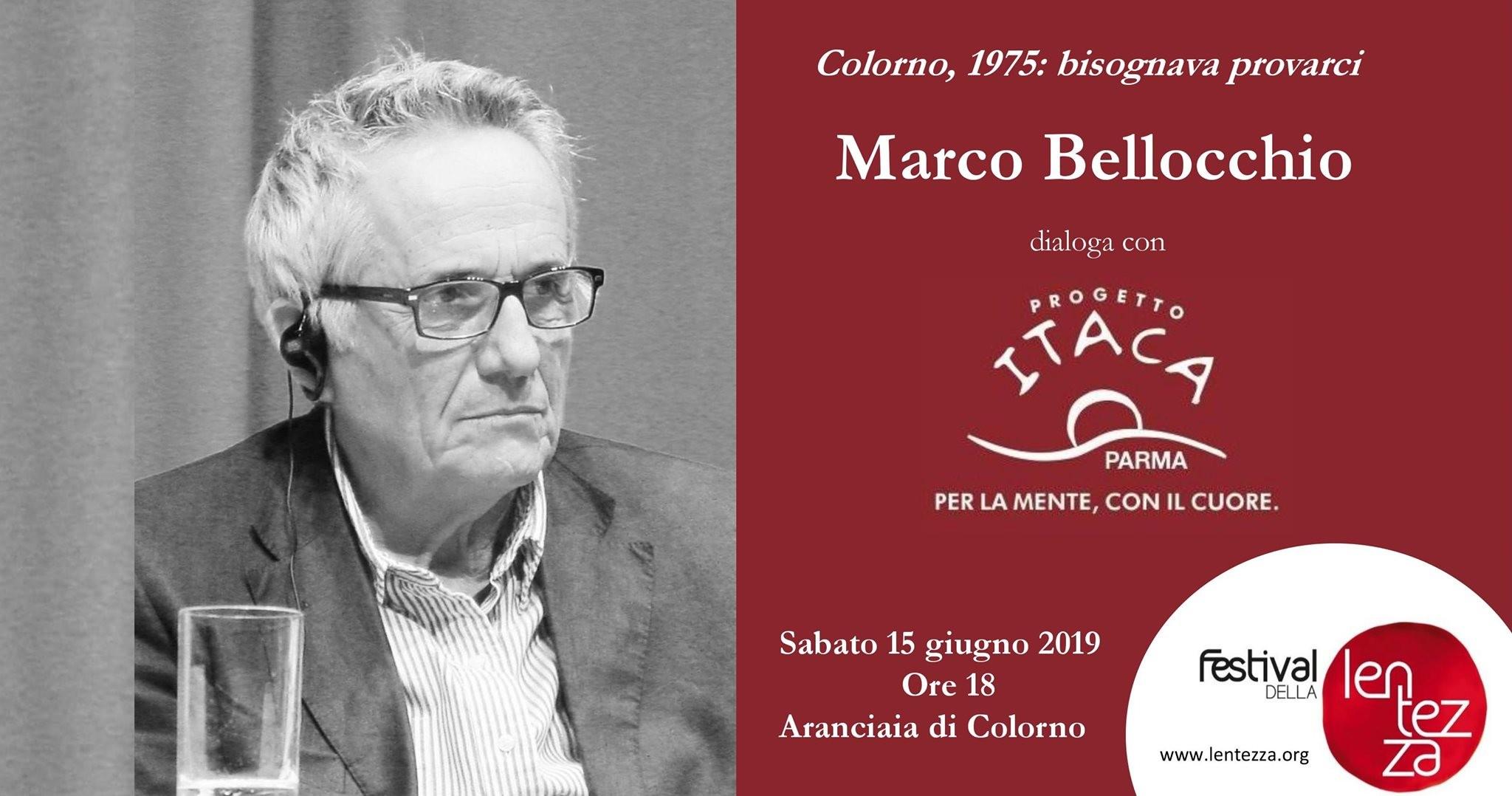 """""""Matti da slegare"""" Marco Bellocchio dialoga con gli autori del volume""""Bisognava provarci. Parma e la malattia mentale:"""