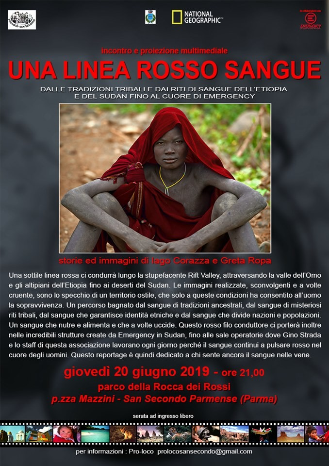 Serata fotografica con il fotografo e antropologo di National Geographic, Iago Corazza