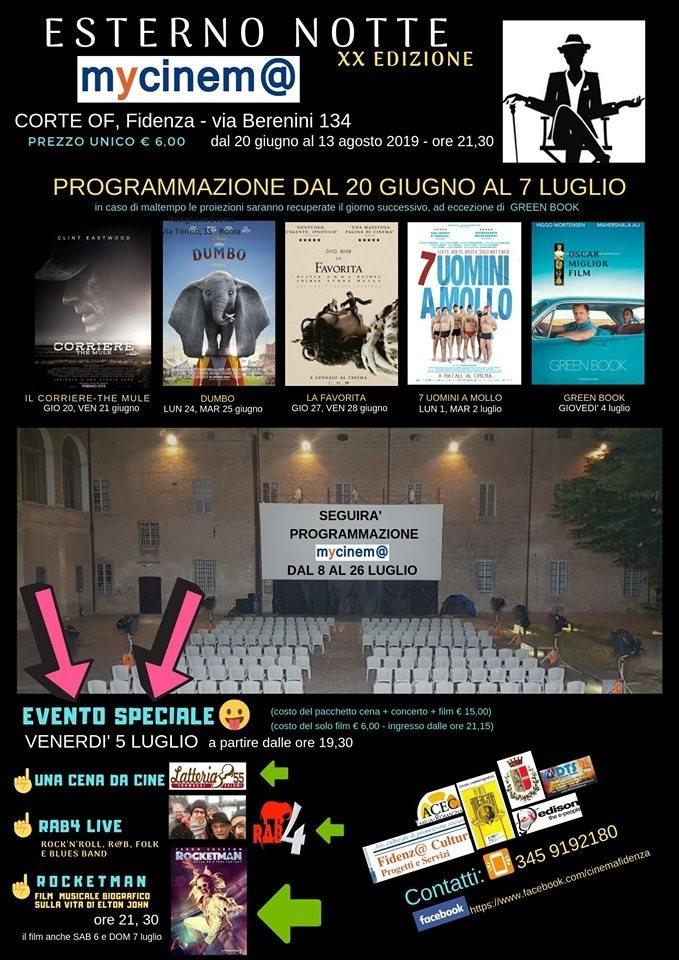 Esterno Notte! il cinema nella Corte del Palazzo delle Orsoline OF