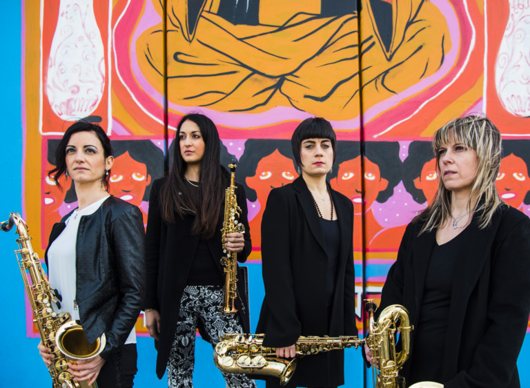 MUSICA IN CASTELLO 2019: MARCO GERBONI, sassofoni – ELISE HALL SAXOPHONE QUARTET