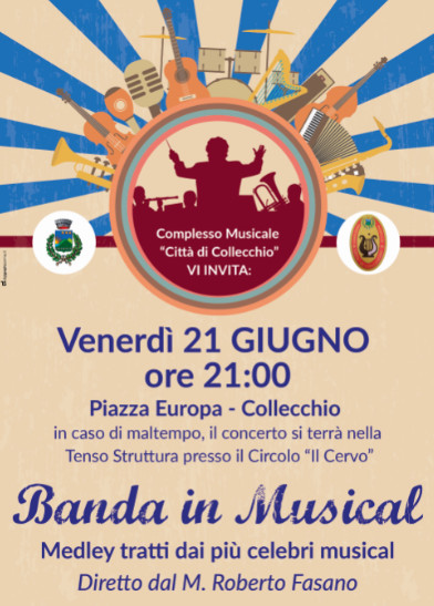 Banda in musical a Collecchio