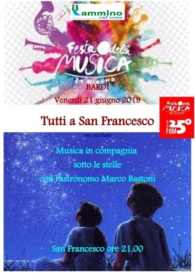 Festa internazionale della musica a san Francesco a Bardi