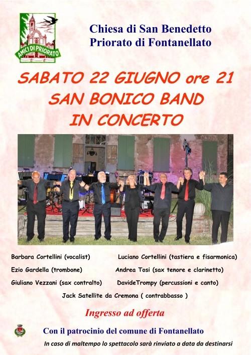 SAN BONICO BAND a Priorato