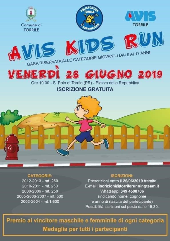AVIS KIDS RUN