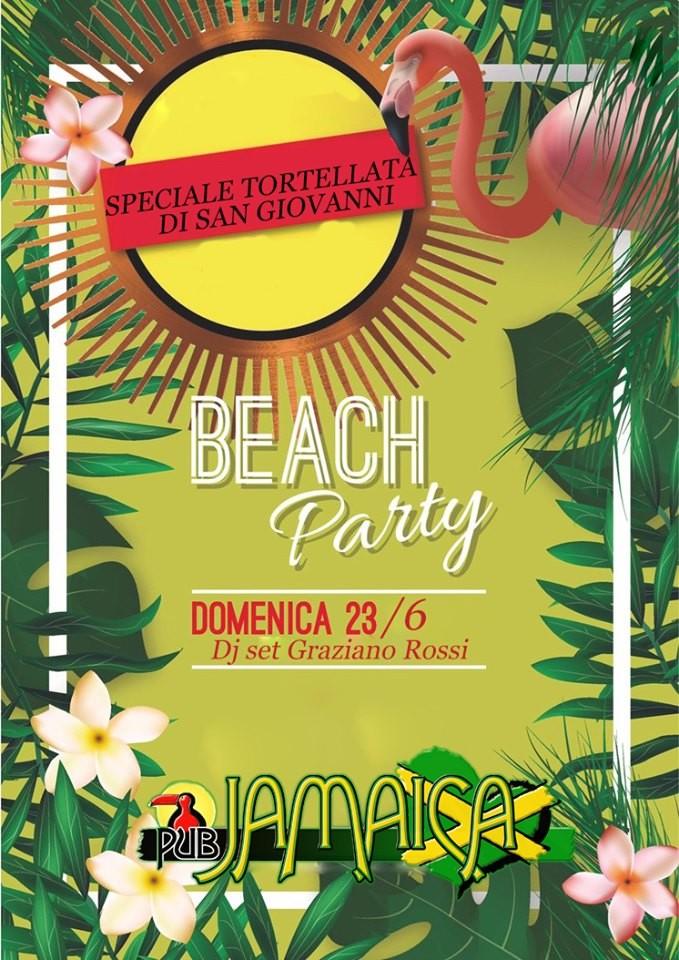 tortellata di San Giovanni Beach party  al Jamaica