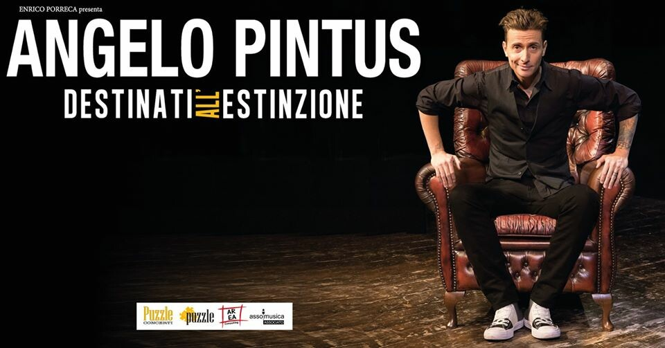 """Angelo Pintus in """"Destinati all''estinzione"""""""