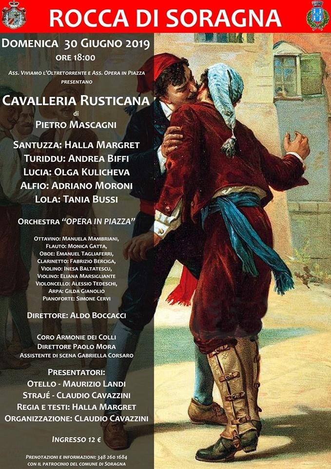 Cavalleria Rusticana di Pietro Mascagni alla Rocca di Soragna