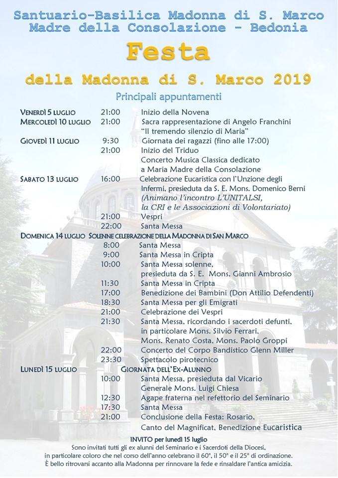 Festa della Madonna di S. Marco