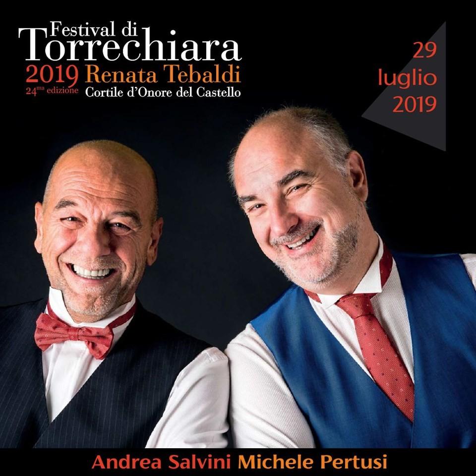 Festival di Torrechiara Renata Tebaldi 2019: La strana coppiaMICHELE PERTUSI E ANDREA SALVINI