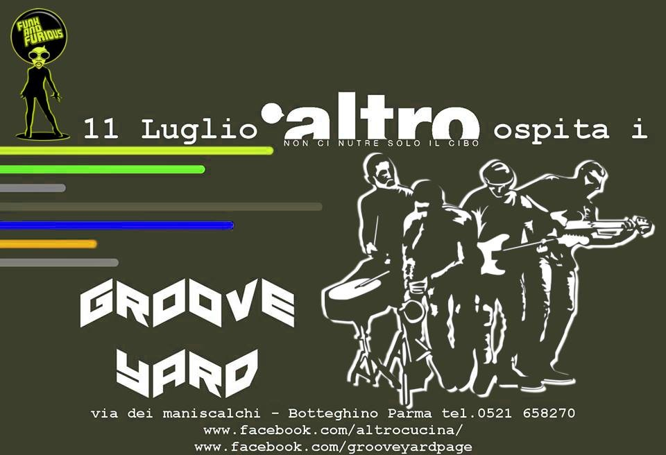 FUNK and furious ! ALTRO ospita i Groove YARD