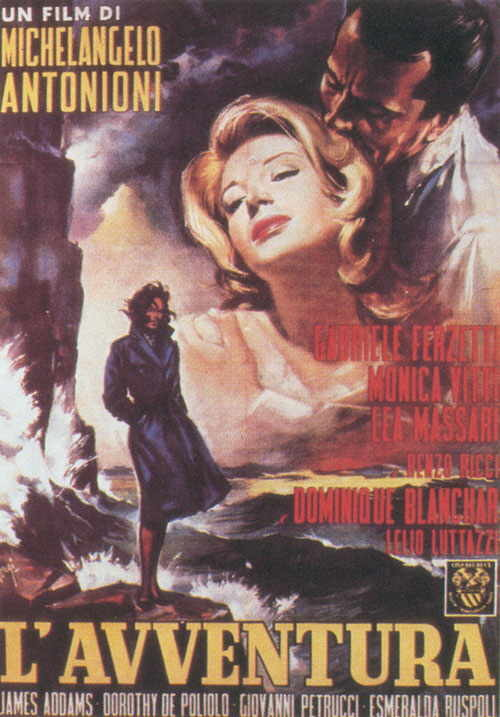 Rassegna: La terra dentro: maestri del cinema dell'emilia romagna  L'Avventura di Michelangelo Antonioni