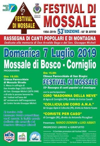 Festival di Mossale 2019 Rassegna di canti popolari e di montagna