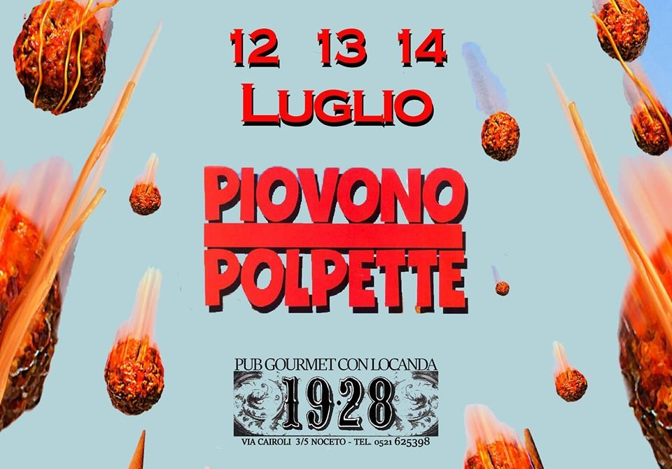 Polpetta Night al 19.28 pub gourmet